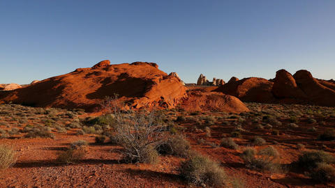 The fantastic colors of Valley of Fire National Park Footage