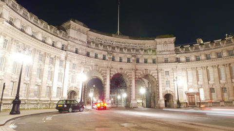 Admiralty Arch London - time lapse shot Live Action