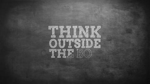 Think outside the box Footage
