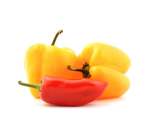 Fresh peppers vegetable Photo