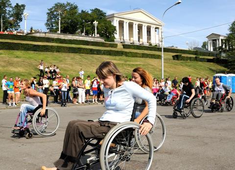 VOLGOGRAD, RUSSIA - CIRCA AUGUST, 2008: City Day holiday. Arriva フォト