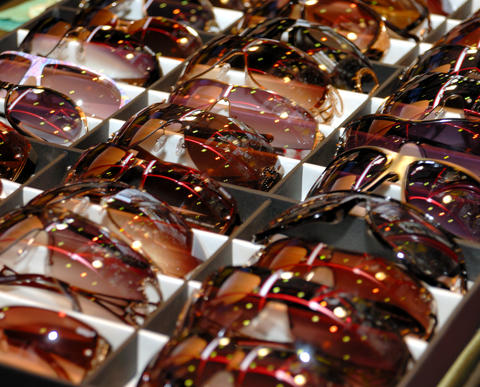 Sunglasses. It is a lot of フォト