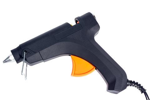 Tools collection - electric hot glue gun Fotografía