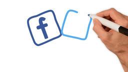 Whiteboard Animation - Social media icons 2 Animation