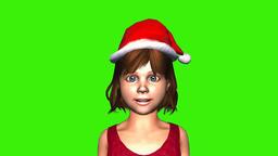 3d green Virtual Spokesperson Animation