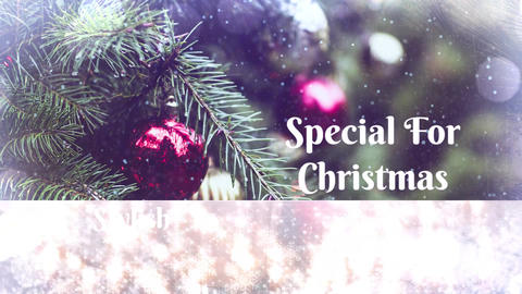 Christmas Holidays Slideshow Premiere Pro Template