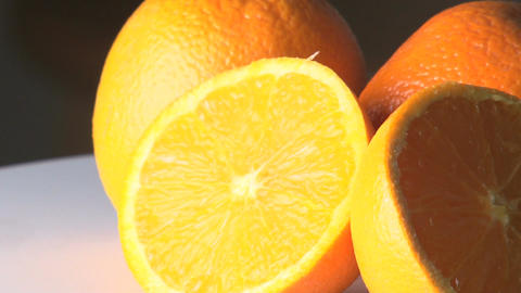 Rotating oranges Footage