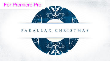 Parallax Christmas Greetings Transitions Motion Graphics Template