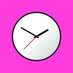 Clock icon, Vector illustration, flat design EPS10 Vector