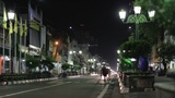 JOGJAKARTA - MAY 2012: ordinary night in indonesia Footage