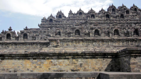 Borobudur, indonesia Footage