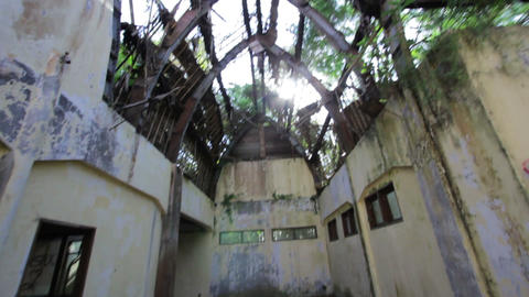 abandoned place Stock Video Footage