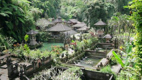 beautiful balinese temple Footage