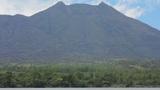 Mount Batur Volcano, Bali, Indonesia stock footage