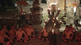 BALI - MAY 2012: kecak dance performance on stage Footage
