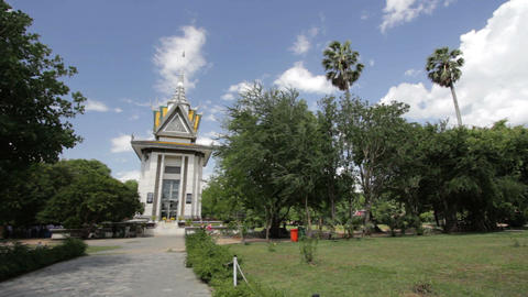 Killing Field National Monument, Cambodia Stock Video Footage
