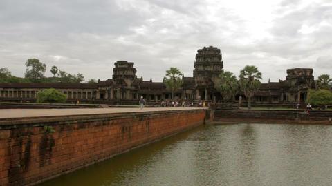 Angkor Wat, Cambodia Stock Video Footage