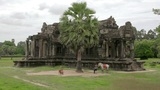 Horse rental in Angkor Wat Footage