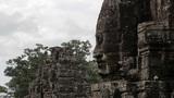 bayon temple, angkor, cambodia Footage