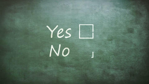 Yes and no options Live Action