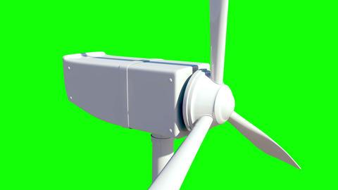 Animation of wind turbine Animation