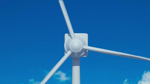 Animation of wind turbine Animation