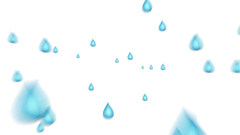 Water droplets Animation