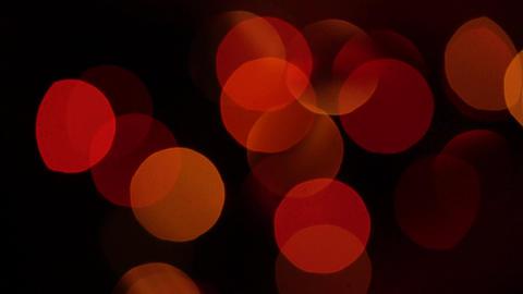 Christmas tree with colorful bokeh and christmas lights..Christmas and new year Footage