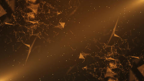 Mirror Orange Plexus Background Animation