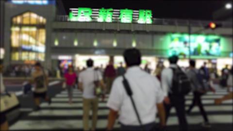 Japan Tokyo Shinjuku station walking ライブ動画