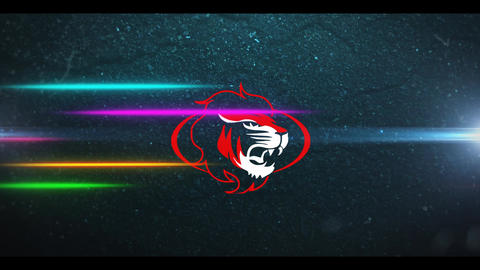 Neon Racing Logo After Effects Template