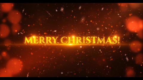 Christmas Trailer After Effects Template