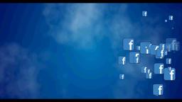 Facebook icon CG動画素材