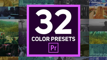 Color Presets Premiere Pro Template