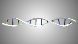 Animation of DNA moving Animation