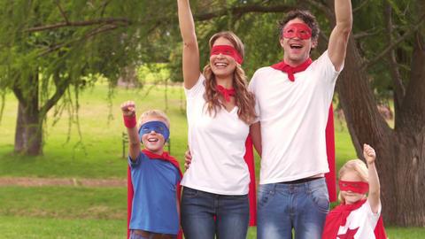 Family pretending to be superhero Live Action