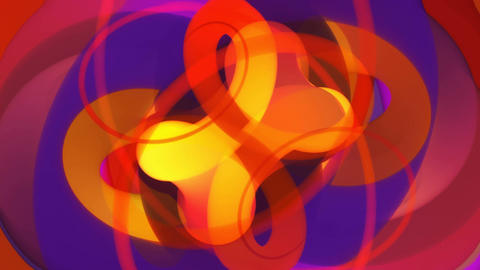 Colorina - 4k Colorful Curvy Video Background Loop CG動画素材