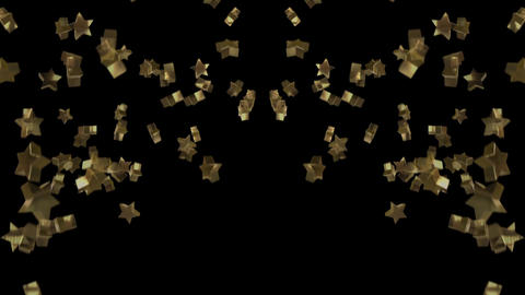 Star cracker CG CG動画素材