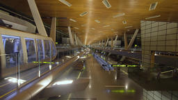 International airport in Doha, Qatar Footage