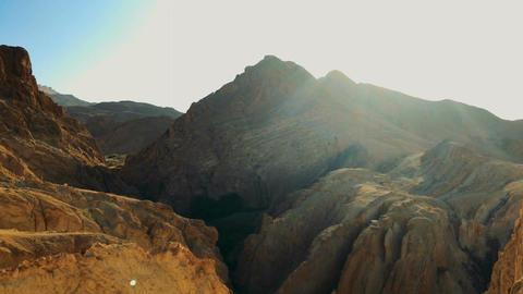 Rocky Mountains In Sahara , Africa, Tunisia Archivo