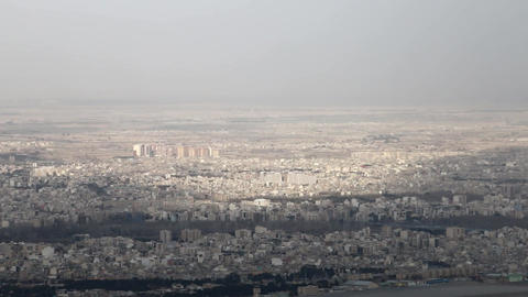 View Of The Big City In Iran (№2) ビデオ