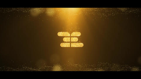 Gold Logo Reveal After Effectsテンプレート