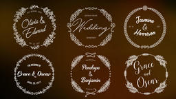 12WeddingopenerTitles Motion Graphics Template