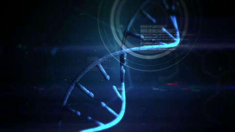 Video of a DNA matrix Animation