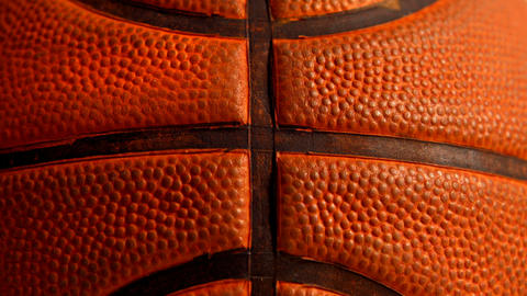 Close Up Of A Basket Ball stock footage