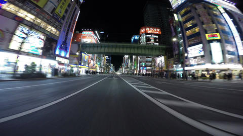 Rapidly growing to be the most popular area in Tokyo. Akihabara's main strip ill Footage