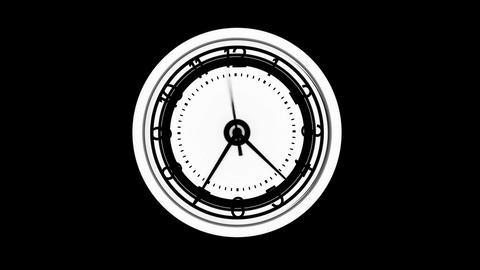 Warping clock timer Live Action