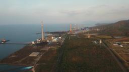 Power station. Indonesia, Jawa island Filmmaterial