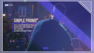 Simple Corporate – Clean Promo After Effects Template