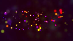 Color neon particle animation background Animation